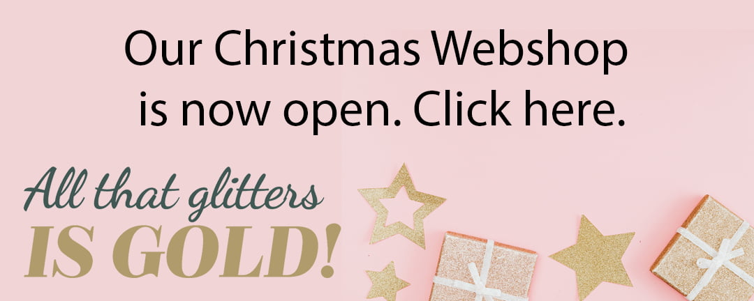 our webshop is open